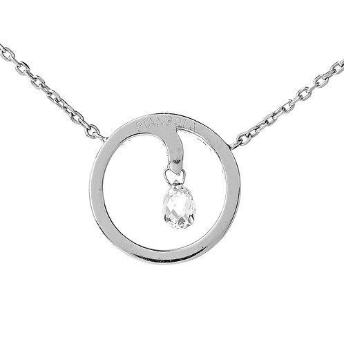 Briolette Diamond Necklace by PIANGOLA