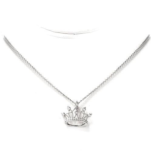 Crown Diamond Pendant