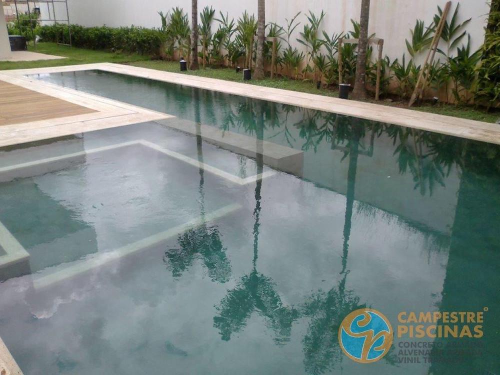 Total de sólidos dissolvidos na piscina