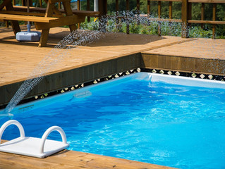 Água de poço na piscina