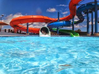 Tempo e Taxa de Recirculação da água da piscina
