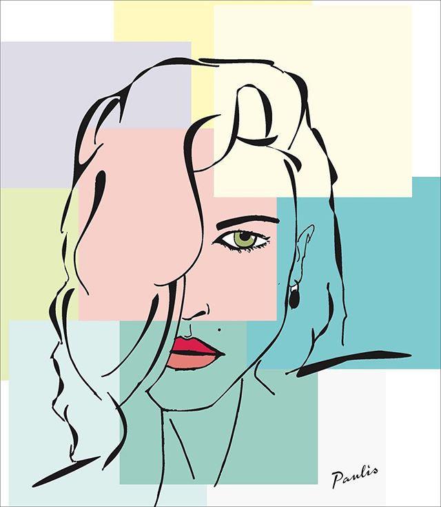 #arte #artedigital #retrato #digital #mu