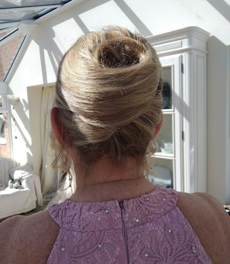 Mother of the Groom's hair