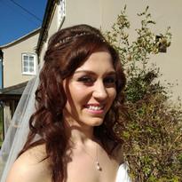 Bridal Make up for beautiful bride Georgia.