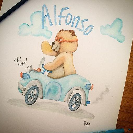 Alfonso ya tiene nombre y cartel para la