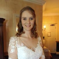 Bride's hair & make up