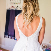Bridal hair - beautiful soft curls with