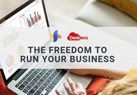 The Freedom to RUN YOUR BUSINESS: DESKERA with SERVIO Enterprise