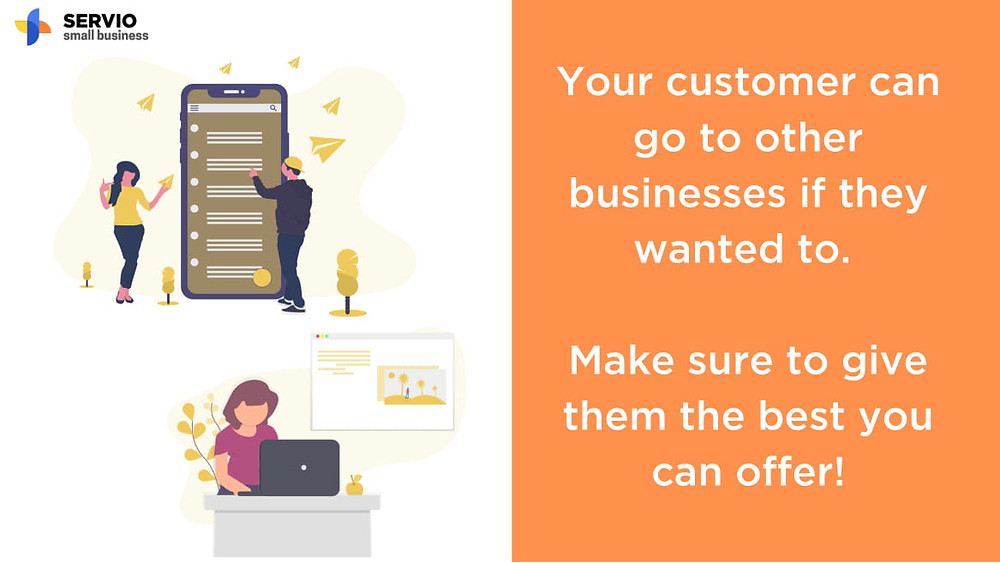 Grow your business with SERVIO Small Business