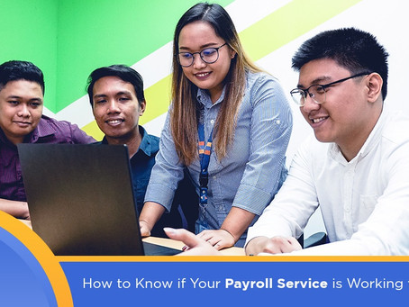 How to Know if Your Payroll Service is Working for You