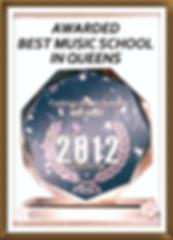Award for Best Music School in Queens