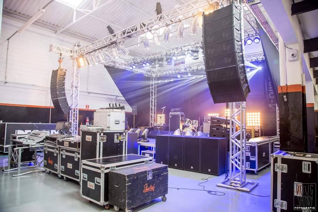 Sound System and stage
