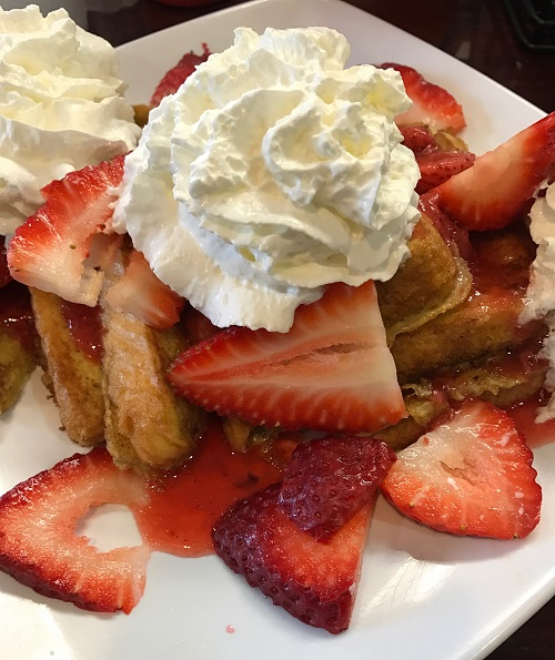 French toast platter