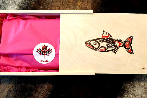 Choose one (A or B)  to put into the BC Wooden Gift Box: