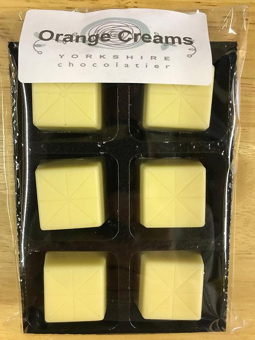 White Orange Creams