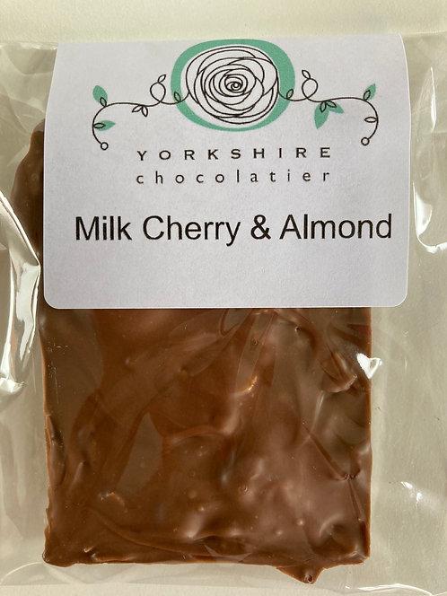 Milk Cherry & Toasted Almond Bar