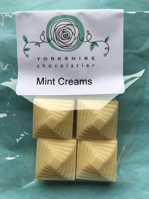 White Mint Creams