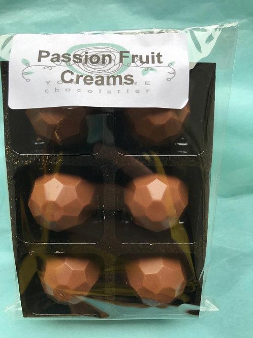 Milk Passion Fruit Creams