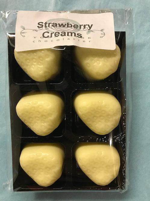 White Strawberry Creams
