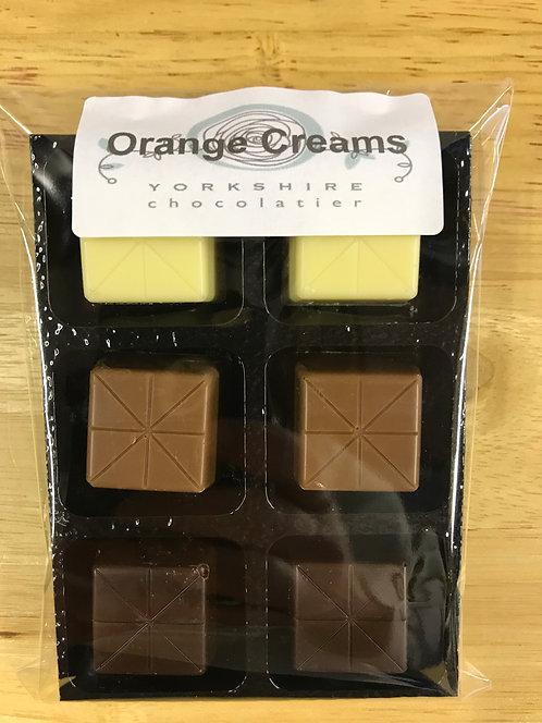 Mixed Orange Creams