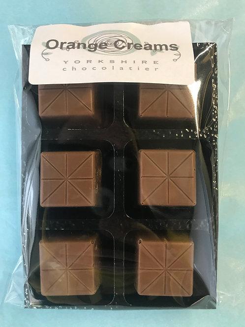 Milk Orange Creams