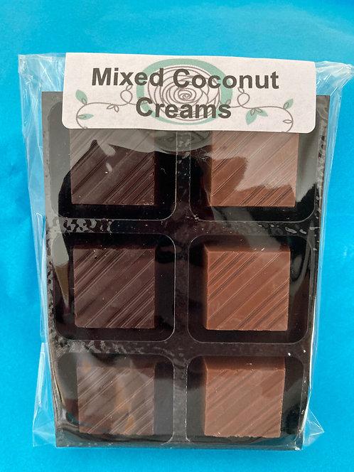 Mixed Coconut Creams