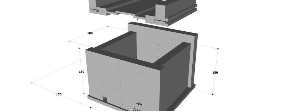 3D MEASUREMENTS KILN 630