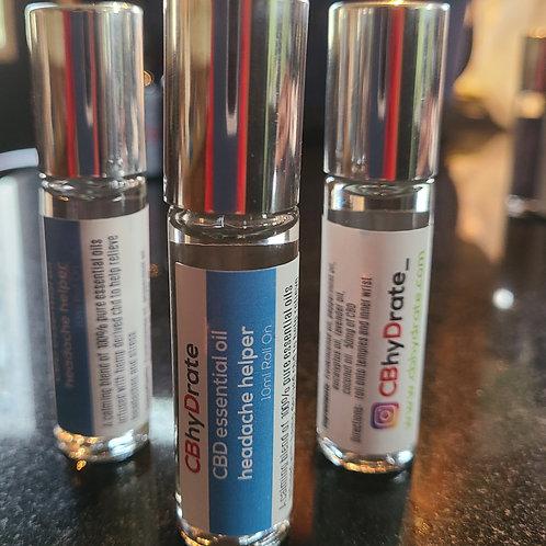 CBD infused essential oil roller (headache helper)