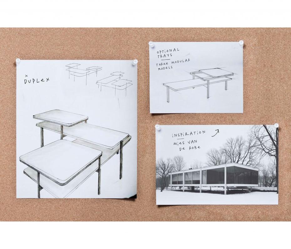 Duplex - sketch work