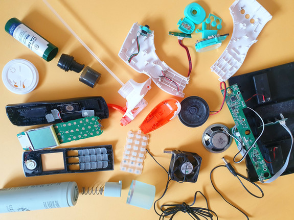 I like to take things apart!