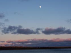 Bell Bay Day Moon
