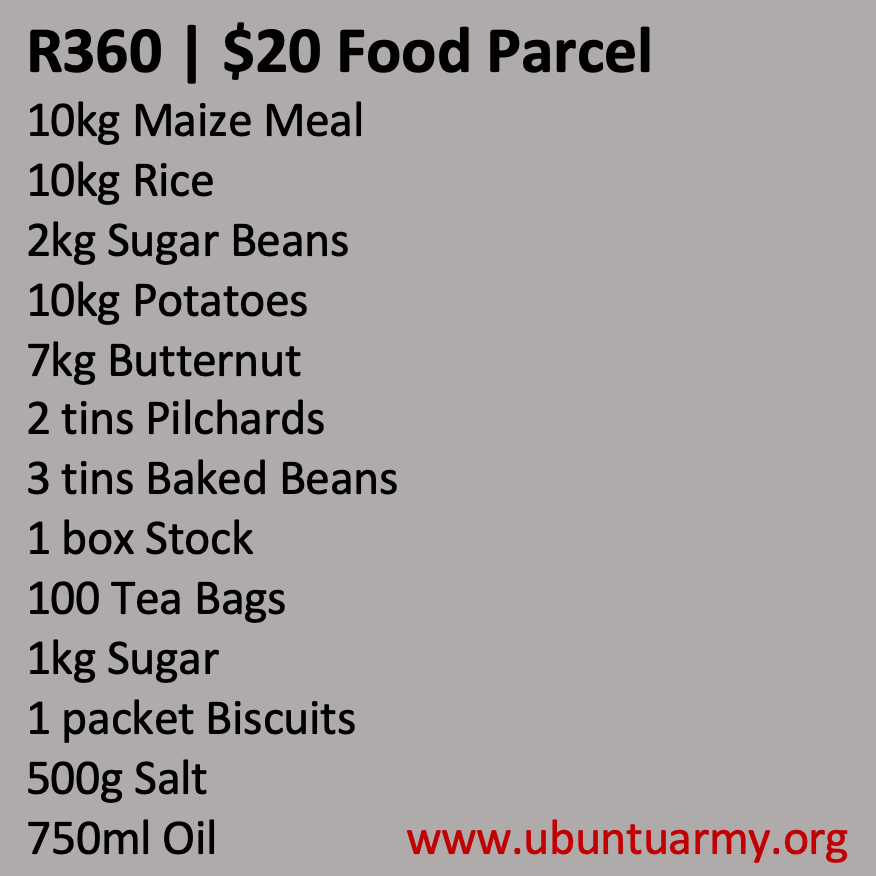 R360 Food Parcels
