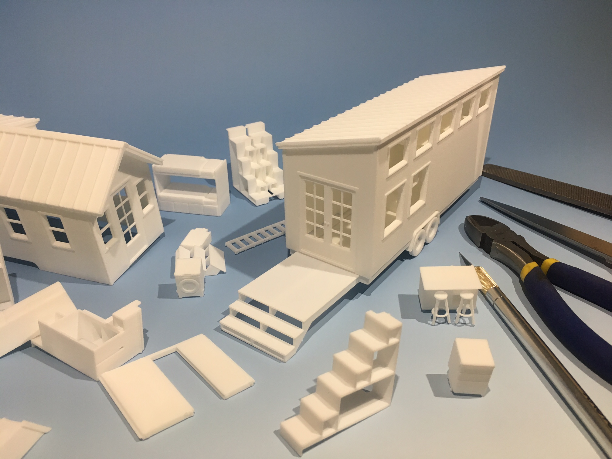 3D-Printed-Tiny-House-Scale-Model