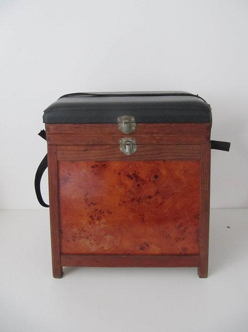 Boîte de pêche vintage
