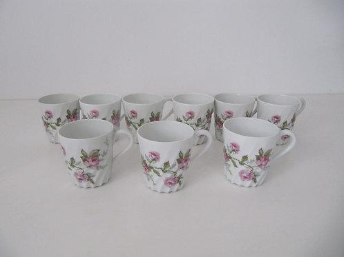 Tasses porcelaine fine Haviland - 1930
