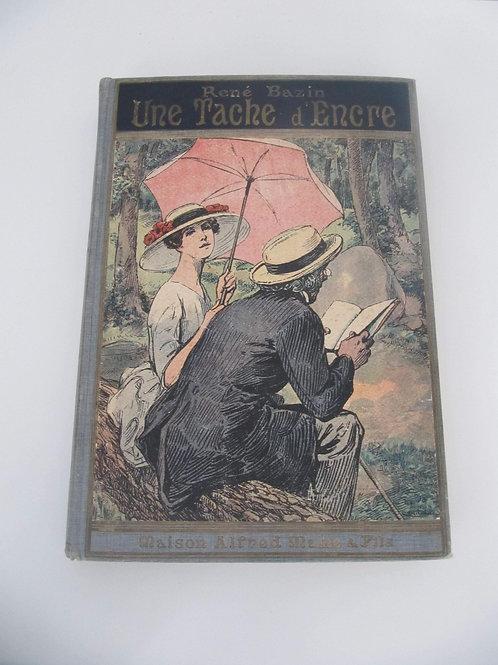 """Hervé Bazin- Une tâche d'encre- 1928- """"Port inclus"""""""