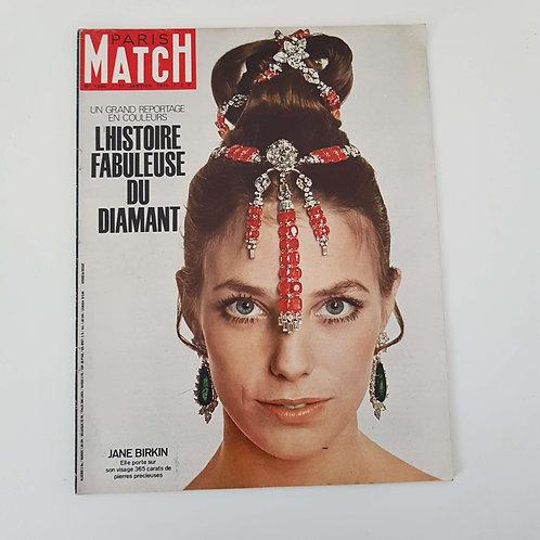 "Paris Match janvier 1970 - Jane Birkin ""port inclus"""
