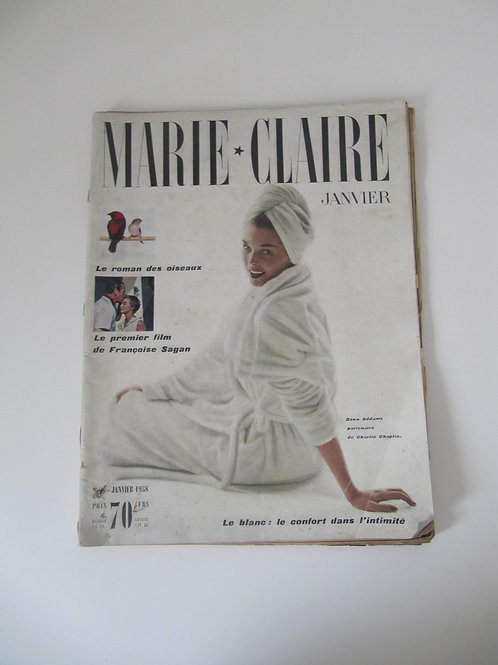 "Magazine Marie- Claire de 1958 - ""Port inclus"""
