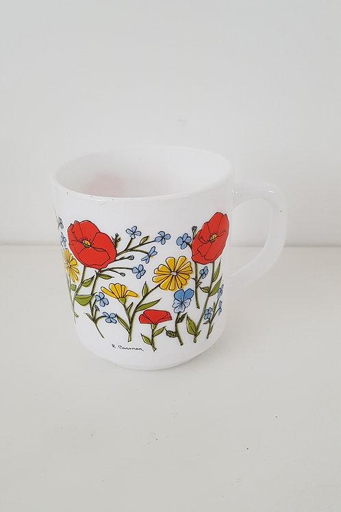 Mug fleurie Vintage Carmen