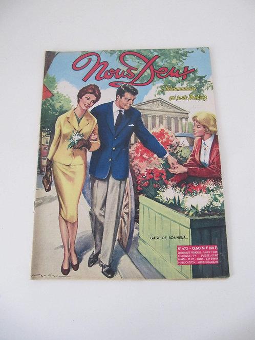 """Magazine Nous Deux de 1962 N°781 - """"Port inclus"""""""