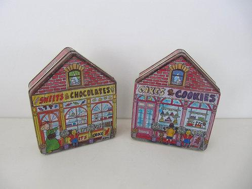 Boîtes métal forme maison (2)