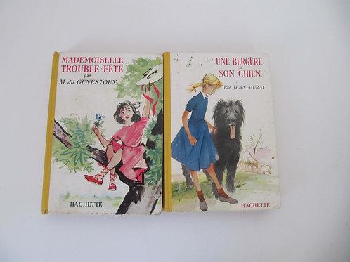 """Livres  jeunesse de 1957- Le lot de 2 """"Port inclus"""""""