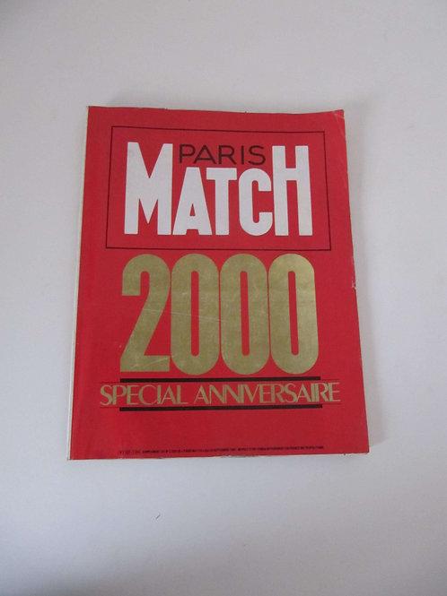 """Paris Match supplément N° 2000 de septembre 1987- """"Port inclus"""""""
