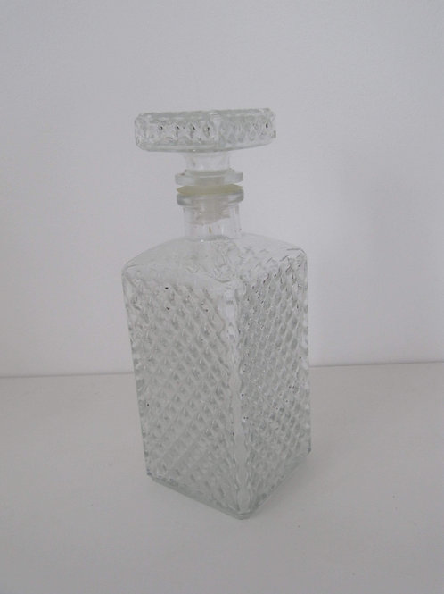 Carafe whisky en verre - vintage