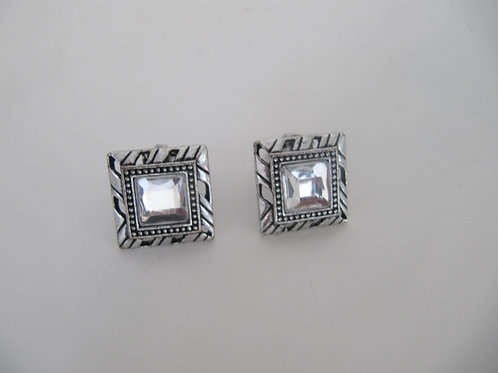 Boucles oreilles clips vintage - Port inclus