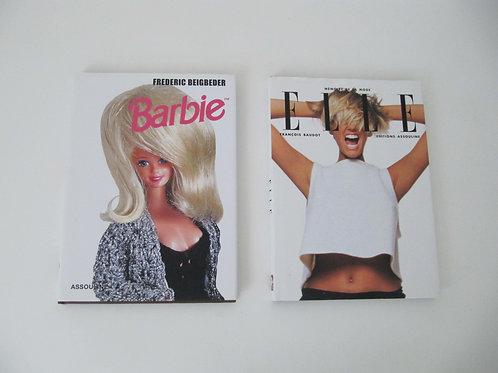 """livres les mémoires de la mode - Elle et Barbie ( le lot)- """"Port inclus"""""""