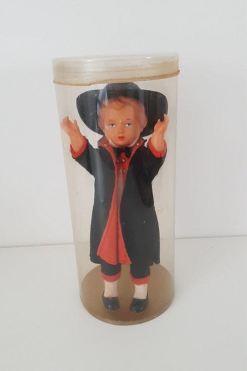 Poupée miniature le marchand de coucou- Vintage
