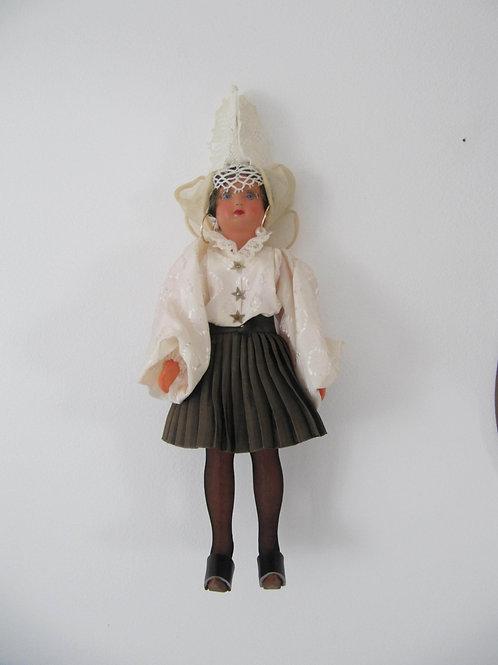 Poupée miniature collection vintage - la Sablaise