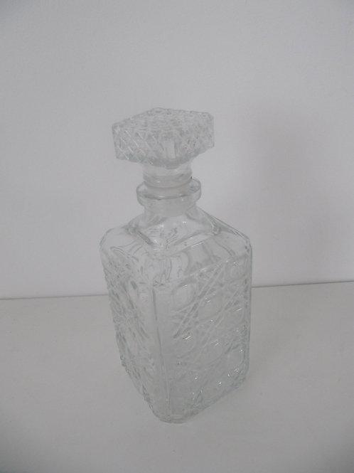 Carafe à whisky en verre - Vintage