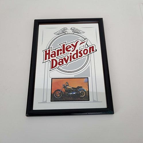 Miroir publicitaire Harley Davidson -Vintage